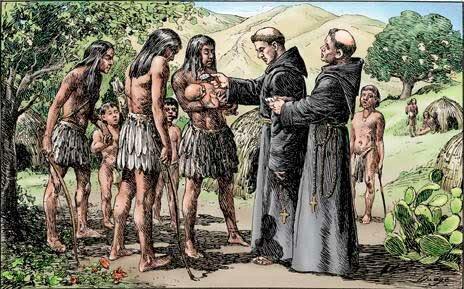 El nuevo mundo y los franciscanos