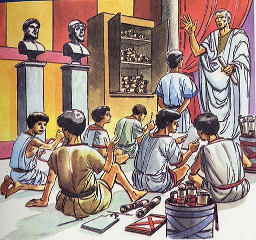 Escuelas romanas