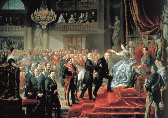 Nació la monarquía en Inglaterra