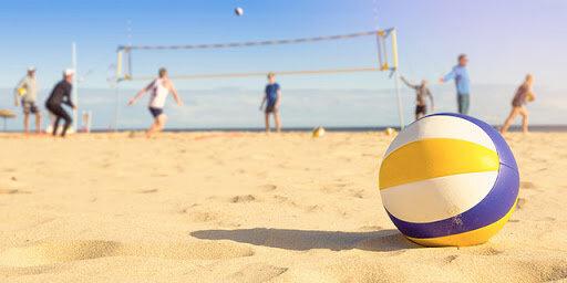Primer juego de playa