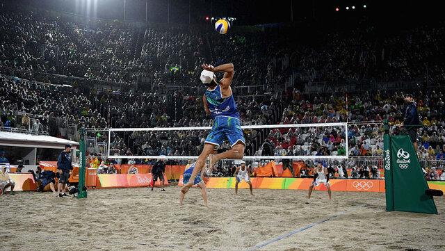 Disciplinas olímpicas en playa