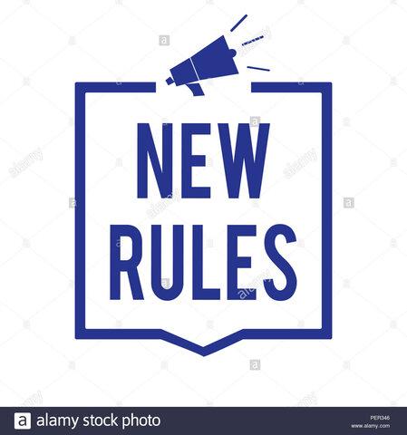 Nuevas Reglas