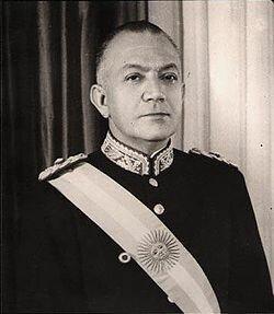 El dictador Levingston como presidente de facto (ARG)