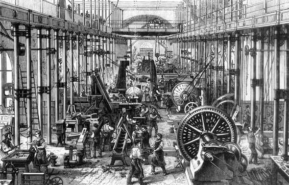 El sector siderurgico