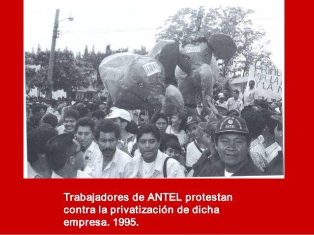 1998 privatización de ANTEL