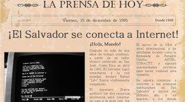 HISTORIA DEL INTERNET EN EL SALVADOR timeline