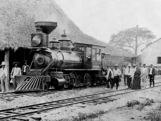 El ferrocarril: un nuevo modo de transporte