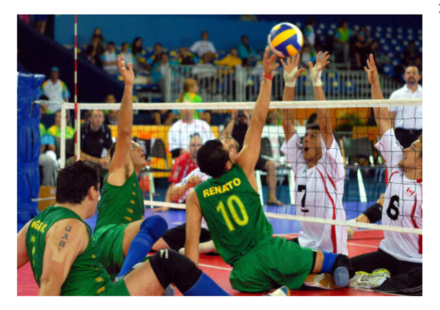 Volleyball sentado, en Paraolímpicos