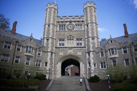 F. Scott Fitzgerald goes to Princeton