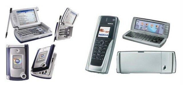 2004 Los celulares pioneros en tener conectividad Wi-Fi en El Salvador