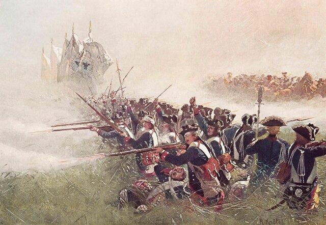 Derrota de los austriacos a manos de prusianos (Alemania)