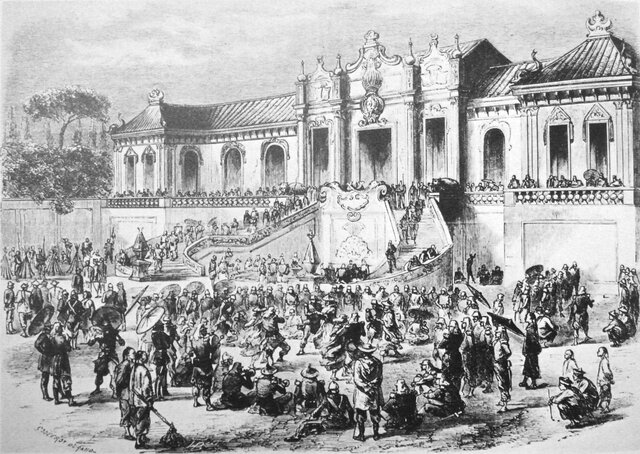 Saqueo del palacio de Yuanmingyuan