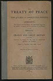 Firma del Tractat de Versalles