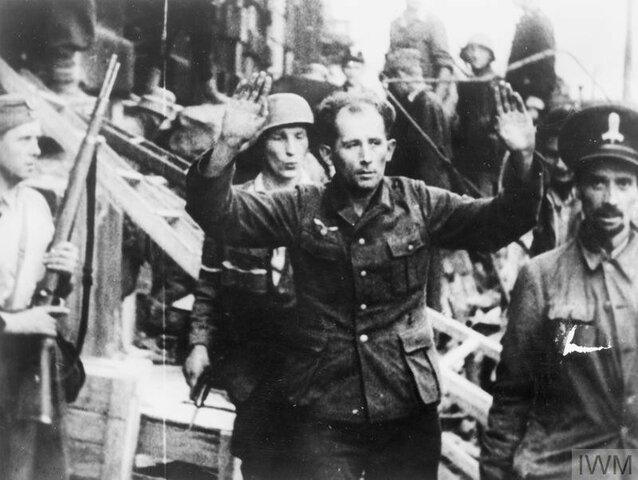 28 september Warszawa blir tatt