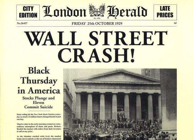 crisi de la borsa a Nova York (crac)