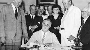Roosevelt proposa el New Deal