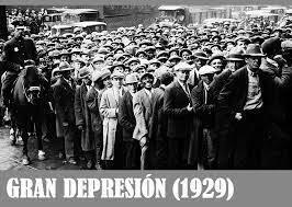 Inici de la gran depressió econòmica