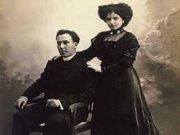 Matrimonio con Leonor Izquierdo