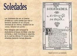 Publicación Soledades