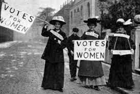 HECHOS CULTURALES Y CIENTIFICOS -Voto femenino en los E.U-