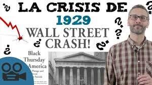 HECHOS ECONÓMICOS-Crisis de la bolsa en Nueva York , CRAC-