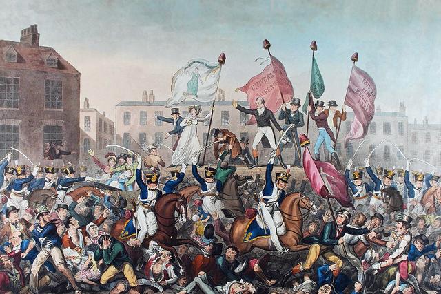 The Peterloo Massacre