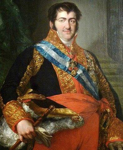 French Army Restores Ferdinand VII to Throne