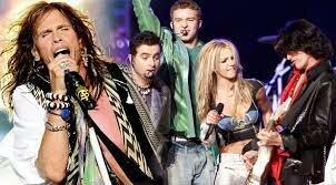 Aerosmith actua a la Super Bowl