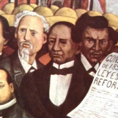 Guerra de Reforma timeline