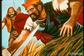 Saul kills himeself