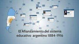 Período 1884-1916 timeline