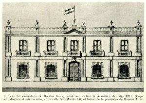 Una paquetería total: Se crea el Consulado de Comercio de Buenos Aires