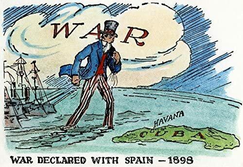 U.S. declares war on Spain