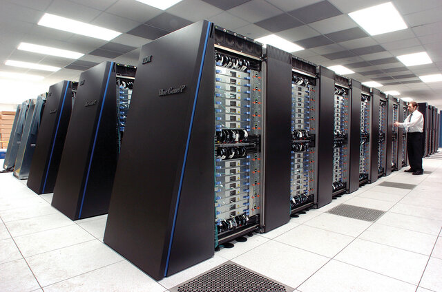The First Supercomputer