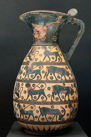 Olpe - Corinto - 635 a.C. circa