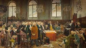 La première Chambre d'assemblée du bas Canada en 1792
