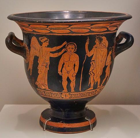 Cratere a figure rosse - 430 a.C. circa
