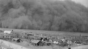 Plains – Dust Bowl – natural disasters – drought