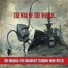 Entertainment – radio, war of the worlds