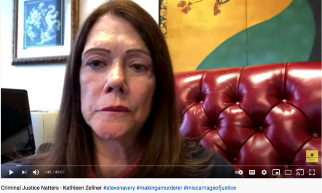 Kathleen Zellner interview with Criminal Justice Natters