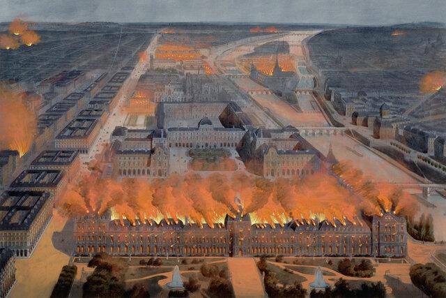 Paris mob invades Tuileries palace