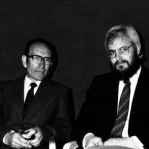 César Milstein y George Kohler.