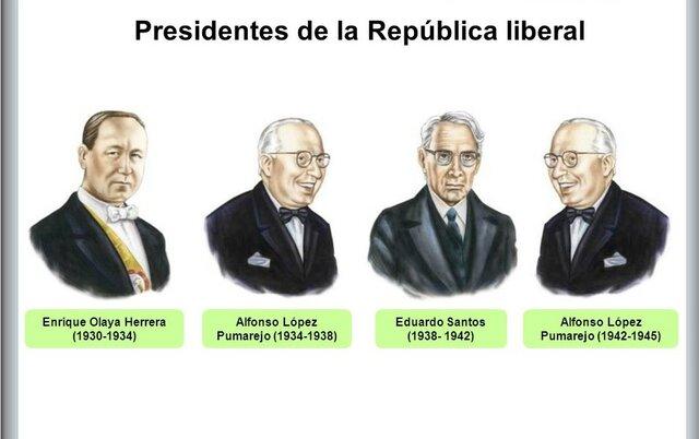 Inicio de la República Liberal