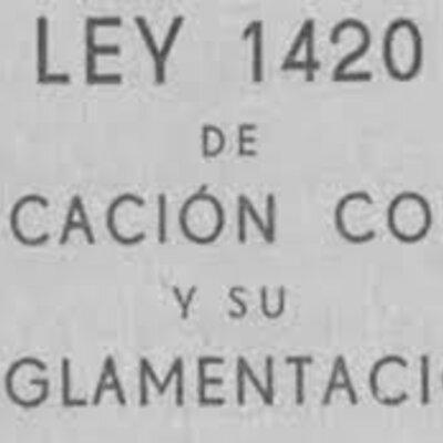 LEY DE EDUACIÓN COMÚN 1420: En 1884, bajo la presidencia de Julio Argentino Roca, se promulgó la Ley 1420 de educación común, gratuita y obligatoria. La obligatoriedad suponía la existencia de la escuela pública al alcance de todos los niños. timeline