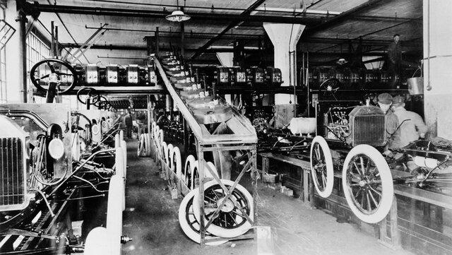 El automóvil y la producción en serie