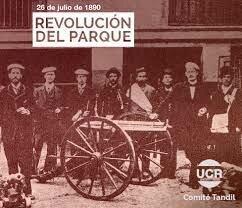 1890 - REVOLUCION DEL PARQUE