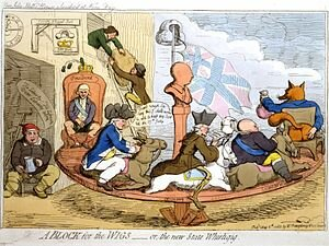 The Whigs take power in Parliament