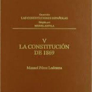 Constitución de 1869 Poder Parlamentario.