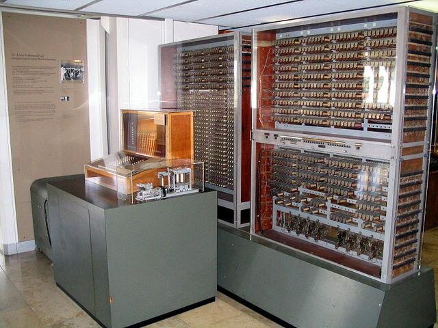 """El primer ordenador """"Z3"""""""