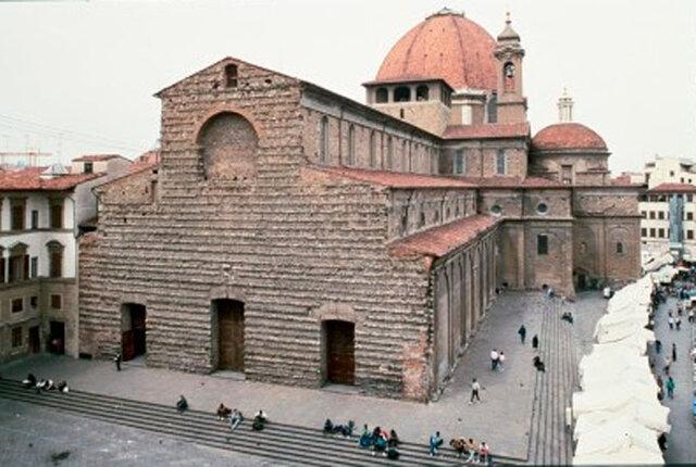 Facade of san lorenzo